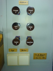Orgelregistrering, 2006