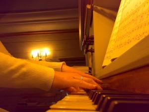 Vigmostad kirke, orgelspilling 8